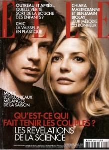 ELLE France/cover